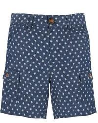 Pantalones cortos azul marino de Andy & Evan
