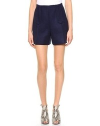 Pantalones cortos azul marino de Carven