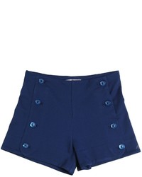 Pantalones cortos azul marino de Miss Blumarine