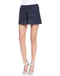 Pantalones cortos azul marino de Victoria Beckham