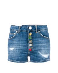 Pantalones Cortos Azules de Dondup