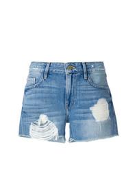 Pantalones cortos azules de Frame Denim