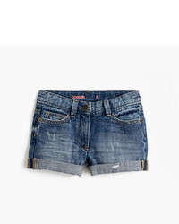 Pantalones cortos azules de J.Crew