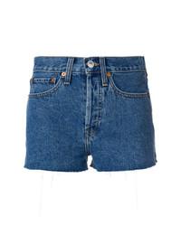 Pantalones Cortos Azules de RE/DONE