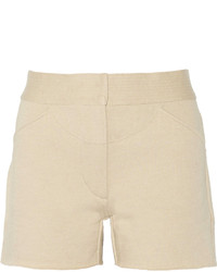 Pantalones Cortos Beige