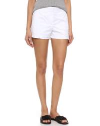 Pantalones cortos blancos de DKNY