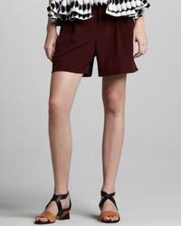 Pantalones cortos burdeos de Marni