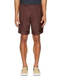 Pantalones cortos burdeos de Valentino