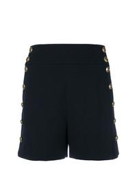 Pantalones cortos con adornos negros de Chloé