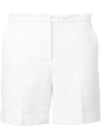 Pantalones cortos con relieve blancos de Theory