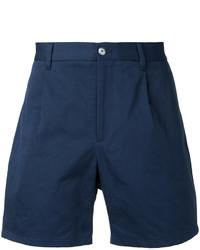 Pantalones cortos de algodón azul marino de Kent & Curwen
