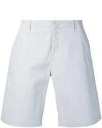 Pantalones cortos de algodón blancos de Kent & Curwen