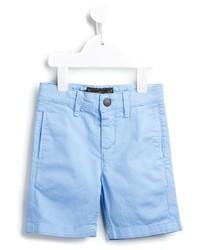 Pantalones cortos de algodón celestes de Finger In The Nose