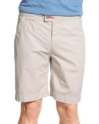 Pantalones cortos de algodón en beige de Psycho Bunny