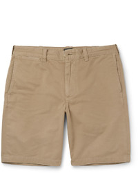 Pantalones cortos de algodón marrón claro de J.Crew