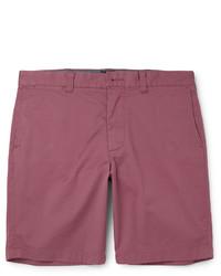 Pantalones cortos de algodón rojos de J.Crew