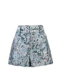 Pantalones Cortos de Flores Celestes de Alice + Olivia