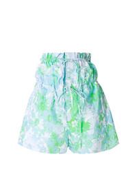 Pantalones Cortos de Flores Celestes de Ports 1961