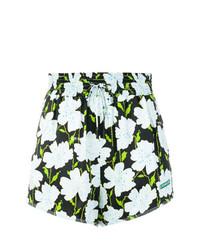 Pantalones Cortos de Flores Multicolor de Off-White