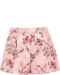 Pantalones Cortos de Flores Rosados de Stella McCartney