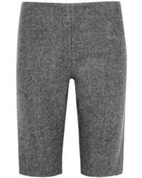 Pantalones cortos de lana en gris oscuro de Alexander Wang
