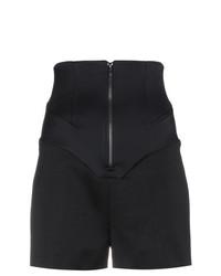 Pantalones Cortos de Lana Negros de Esteban Cortazar