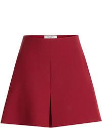 Pantalones cortos de lana rojos
