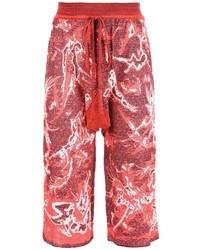 Pantalones Cortos de Lana Rojos de Vivienne Westwood