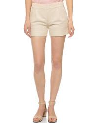 Pantalones cortos de lino en beige de Vince