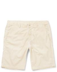 Pantalones cortos de pana en beige de Massimo Alba