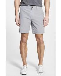 Pantalones cortos de rayas verticales grises