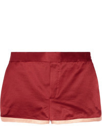 Pantalones Cortos de Seda Rosa de Marc by Marc Jacobs