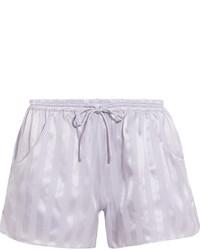 Pantalones Cortos de Seda Violeta Claro de Eres