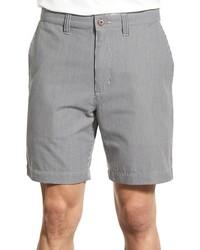 Pantalones cortos de seersucker grises de Patagonia