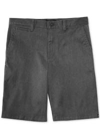 Pantalones cortos en gris oscuro