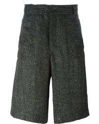 Pantalones cortos en gris oscuro de Damir Doma