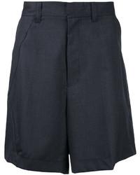 Pantalones cortos en gris oscuro de Facetasm