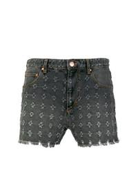 Pantalones cortos en gris oscuro de Isabel Marant Etoile