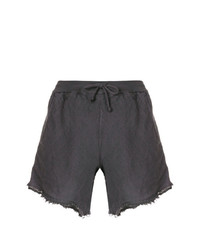 Pantalones cortos en gris oscuro de Lost & Found Rooms
