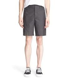 Pantalones cortos en gris oscuro de rag & bone
