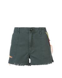 Pantalones cortos en gris oscuro de The Great