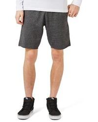 Pantalones cortos en gris oscuro de Topman