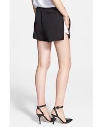Pantalones cortos en negro y blanco de Alexander Wang