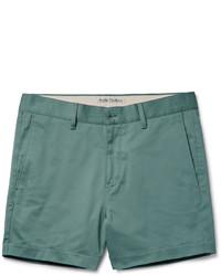 Pantalones cortos en verde menta de Acne Studios