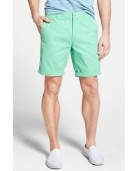 Pantalones cortos en verde menta de Bonobos