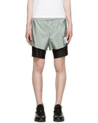 Pantalones cortos en verde menta de Satisfy
