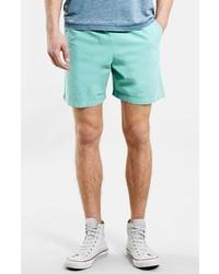 Pantalones cortos en verde menta de Topman