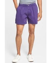 Pantalones cortos en violeta