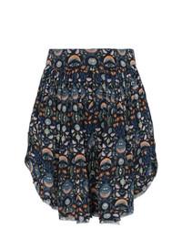 Pantalones cortos estampados azul marino de Chloé