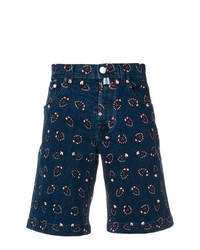 Pantalones cortos estampados azul marino de Jacob Cohen